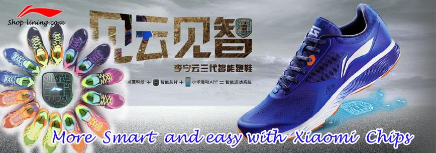 Xiaomi x Li Ning Smart Running Shoes