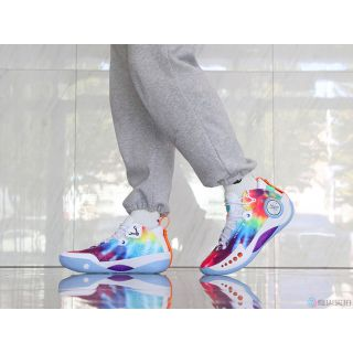 D'Angelo Russell x Li Ning Wade Shadow III Low Professional Basketball Shoes | Multi Color