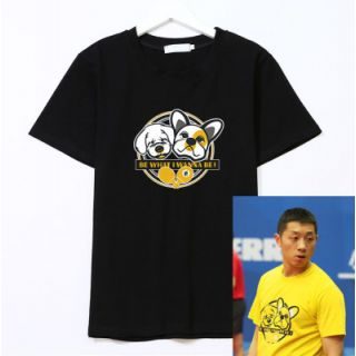 Xu Xin Same Style Table Tennis Leisure Tee | Be What I Wanna Be
