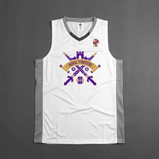 CBA Beijing Royal Fighters Customized Jersey
