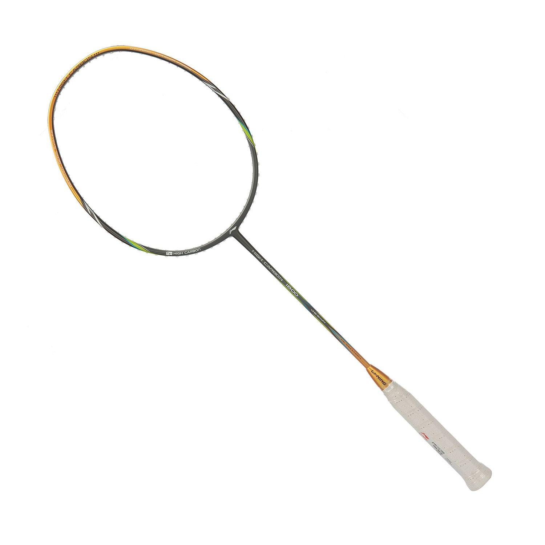 Li-Ning Mega Power HC 1800 Badminton Racket (Grey/Gold)