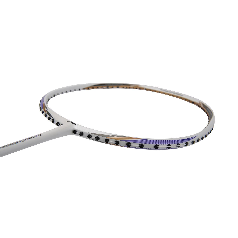 Li-Ning 2018 Turbo Charging 10 Badminton Racket | White Gold