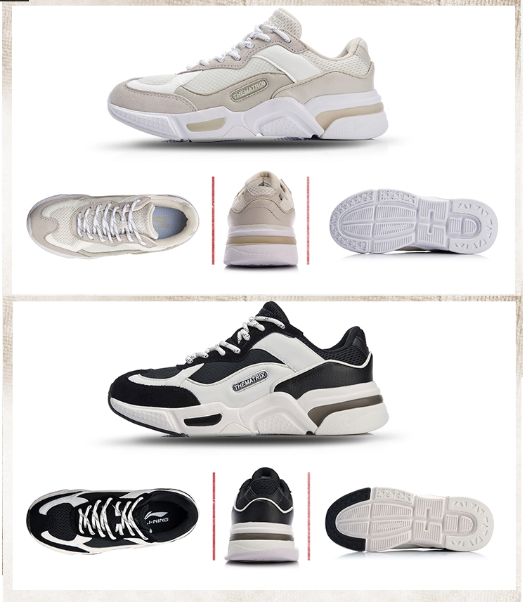 2018 LiNing Reverses Women's Classical Light Casual Shoes
