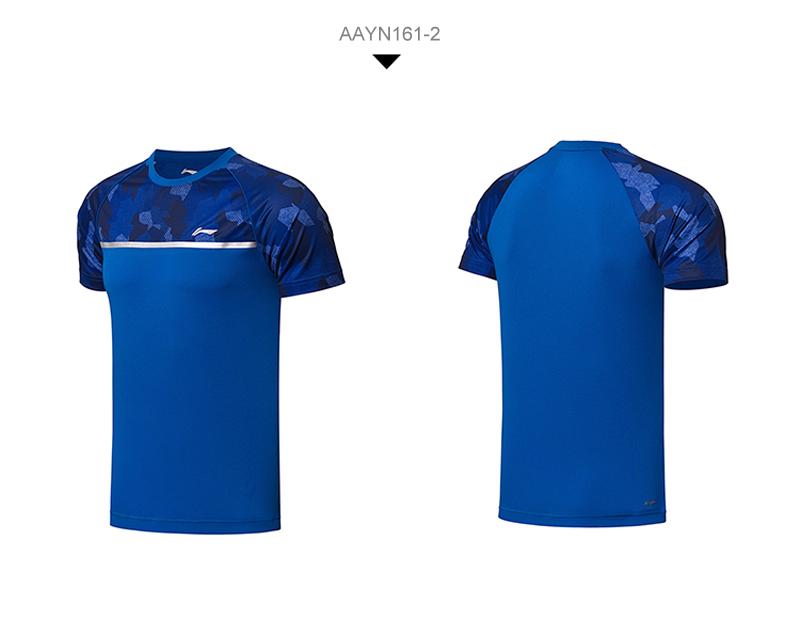 Li-Ning Men's Fast Dry Badminton Tee Shirts