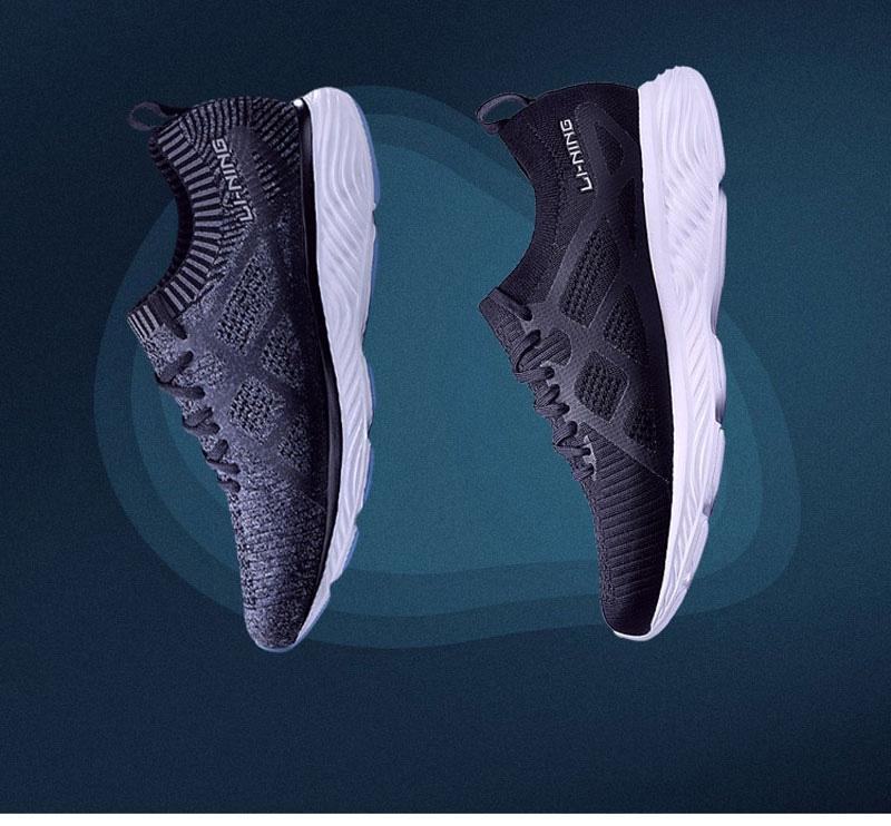 Li-Ning Cloud III 2018 Sock Like Cushion Running Shoes
