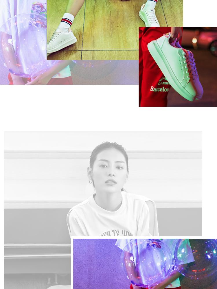 Li-Ning x Russian Artist Co-branded women's Classic Casual Shoes