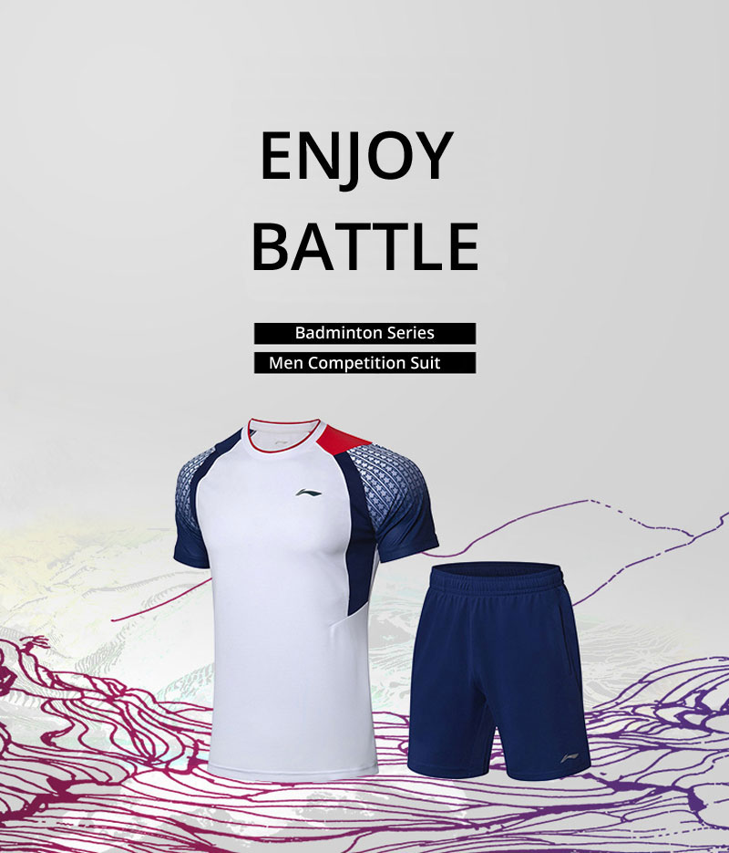 Li-Ning Men's Badminton Game Suit