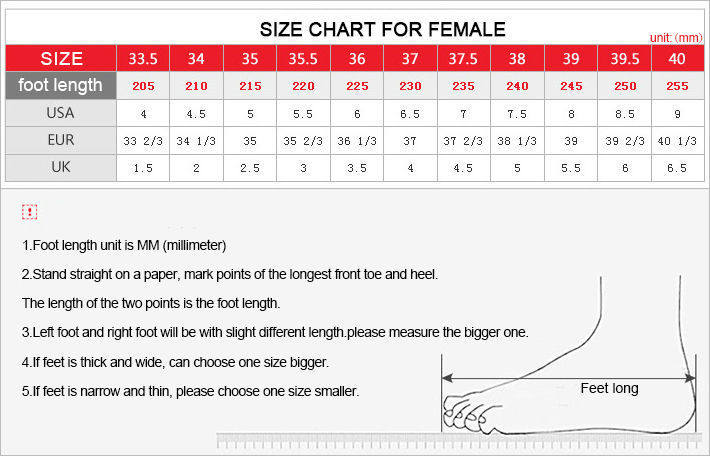 Men's Shoes Size
